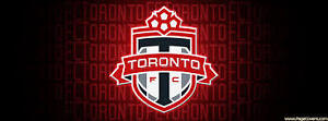 Toronto FC Tickets - 2 seats.  Cost price.