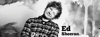 2 Ed Sheeran tickets for $50!! Great Lower Level Seats