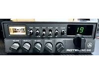 Good condition Rotel 240 cb radio