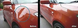 Dent repair low flat fee guaranteed satisfaction or it's free
