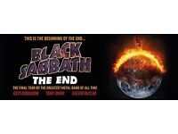 Black Sabbath Seated Tickets