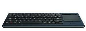 Logitech K830 Wireless Illuminated Living Room Touch Keyboard .....