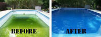 KM Swimming Pool Service        Liner Bow Out||||||||||||||||