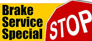 Brake Pads Change Special For Only $89.99