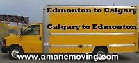 Edmonton to calgary moves,reasonable prices at 7808074363