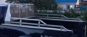 Rack arrière aluminium