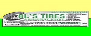 All used tire are now $15.00 each