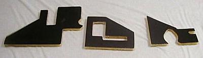 1972 - 1980 Dodge Truck Firewall Insulation Pad Kit 3 Pieces