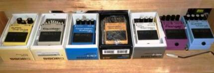 Classic Boss Guitar Effects Pedals - $99 Each
