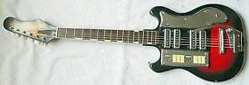 1964 Guyatone/teisco japanese baritone guitar