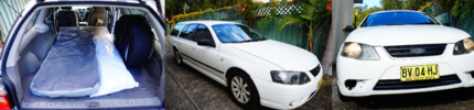 2007 Ford Falcon Wagon, perfect for travellers/tradies/families