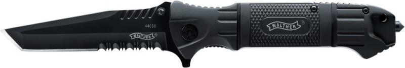 Walther Black Tac Tanto Klappmesser Glasbrecher Rescue Taschenmesser Messer