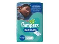 Pampers bed mat 2 packs of 7 mats each
