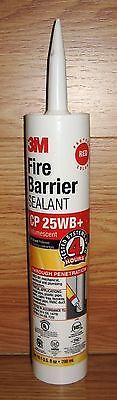 3M  Intumescent Red Fire Barrier Sealant Caulk 10.1 fl oz -