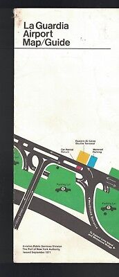 La Guardia Airport Map Guide New York City September (Laguardia Map)
