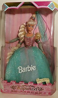 barbie as rapunzel doll 1st addition children's collector new vintage 1994 doll