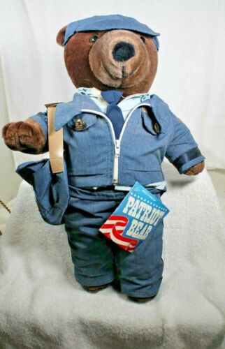 Patriot Bear United States Postal Service Logo Outfit