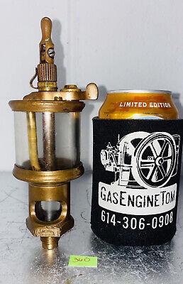 Lunkenheimer Paragon 2 Oiler Lubricator Hit Miss Gas Engine Antique Steampunk
