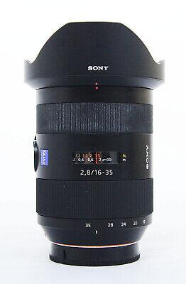 # Sony SAL 16-35mm f/2.8 SSM Lens S/N 1852831