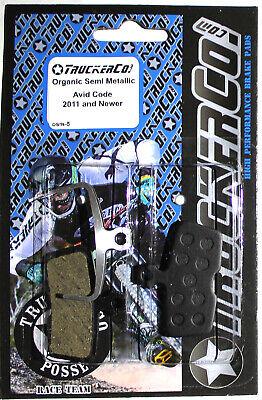 Truckerco Orgánico Pastillas Frenos SRAM Avid Código 2011 + R Rsc Guía...