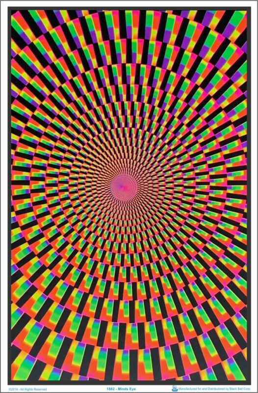 Minds Eye Blacklight Poster 23 x 35
