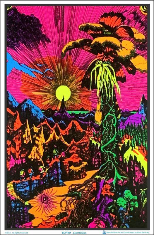 Lost Horizon Blacklight Poster 23 x 35