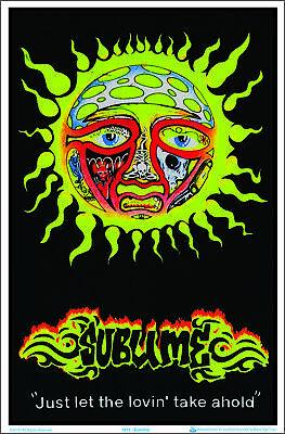 Sublime Blacklight Poster 23 x 35