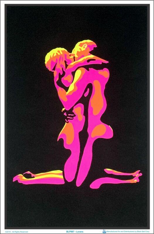 Lovers Blacklight Poster 23 x 35