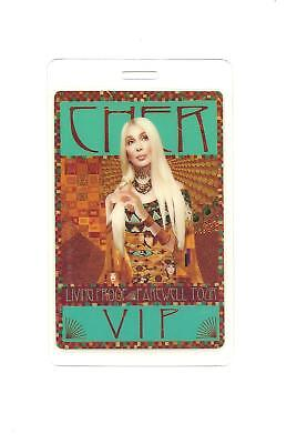 Cher 2002 Living Proof Farewell Tour VIP Backstage Pass Laminated Perri