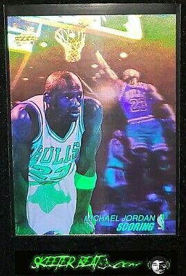 Michael Jordan 91 92 Upper Deck Scoring Hologram Card #AW1