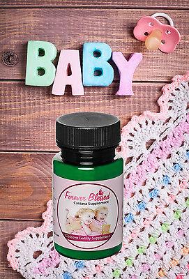 Organic Cassava Root Fertility Pills - Vitamin Supplement for Twins -Pregnancy