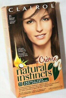 Clairol Natural Instincts Creme Permanent HairColor, Pick your Color