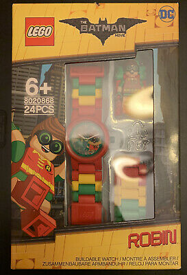 LEGO Robin Buildable Watch and Minifigure The Batman Movie 8020868