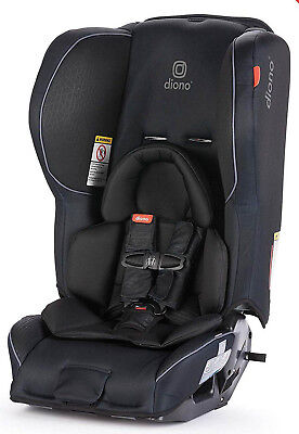 Used, Diono Rainier 2 AX Convertible Child Safety Car Seat + Booster New 2018 Black for sale  Shipping to India