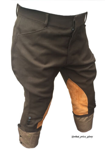 US WWI Officer Wool Whipcord Riding Breeches Size 38 Long
