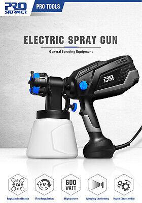 Pistola de pintura eléctrica - 600W 4 boquillas / nozzle - Electric...