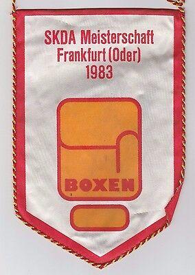 Orig.Wimpel  Meisterschaft der Sozialistischen Armeen FRANKFURT (DDR) 1983 ! TOP