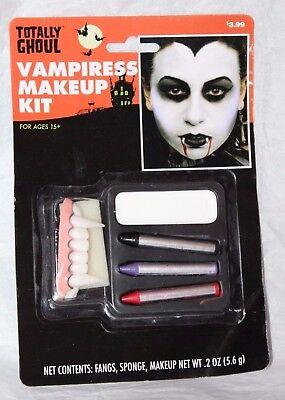 Totally Ghoul Vampiress Makeup Kit Halloween Costume Accessory  - Vampiress Makeup