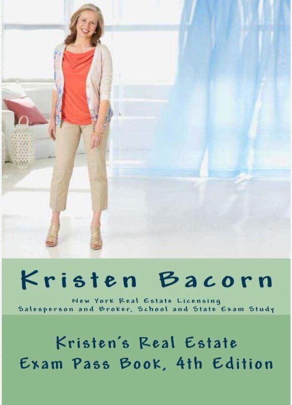 "PDF ONLY- ""Kristen Bacorn"" Real Estate Exam Book"