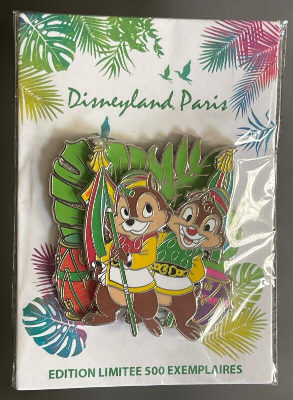 Disney Paris Event Jungle Festival Day Chip And Dale LE 500 Pin