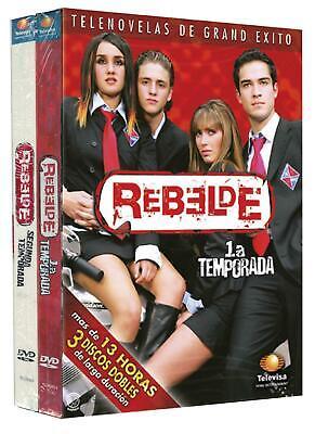 Rebelde - Season 1 & 2 (Both Edited From Original Telecast) (DVD)