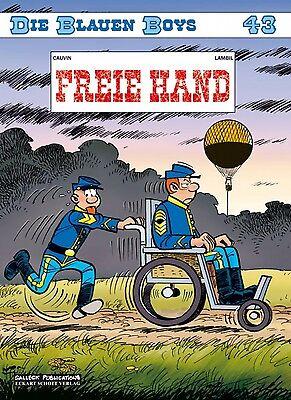 Die blauen Boys 43: Freie Hand - Deutsch - Salleck - Comic - NEUWARE
