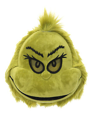Dr. Seuss The Grinch Plush Mouth Mover Mask by elope