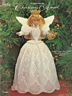 - Christmas Angel Paradise Crochet Collector Costume Fashion Doll Pattern