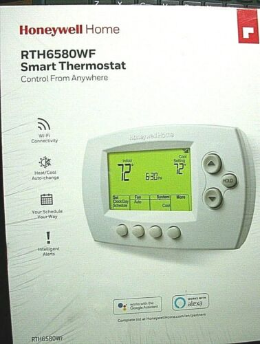 Honeywell Home RTH6580WF smart Thermostat WI-FI 7 Day Programmable NEW SEALED