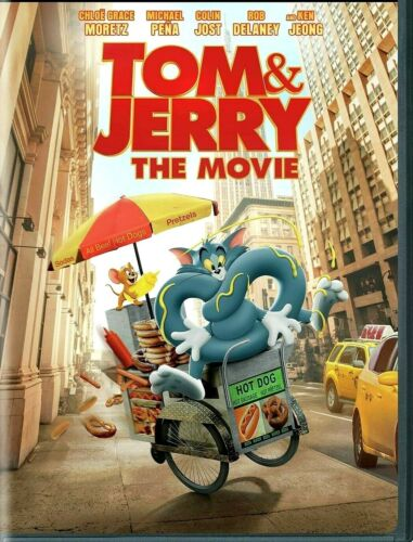 Tom and Jerry (DVD, 2021) NEW* Comedy, Family, Anim* PRE-ORDER SHIPS 05/18/2021