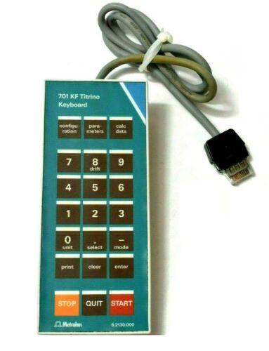 Metrohm 701 KF Titrino Keyboard 6.2130.000