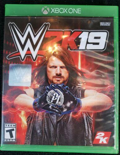 2K Games WWE 2K19 Xbox One,2018  - $4.25