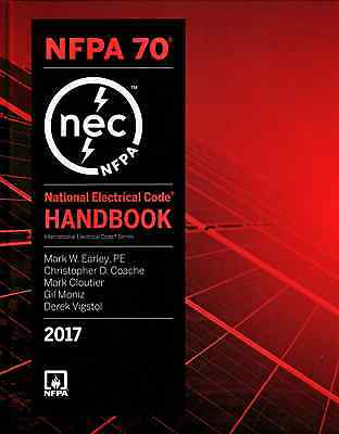 NFPA 70 Handbook : National Electrical Code, NEC, Handbook (Hardcover) 2017 Ed