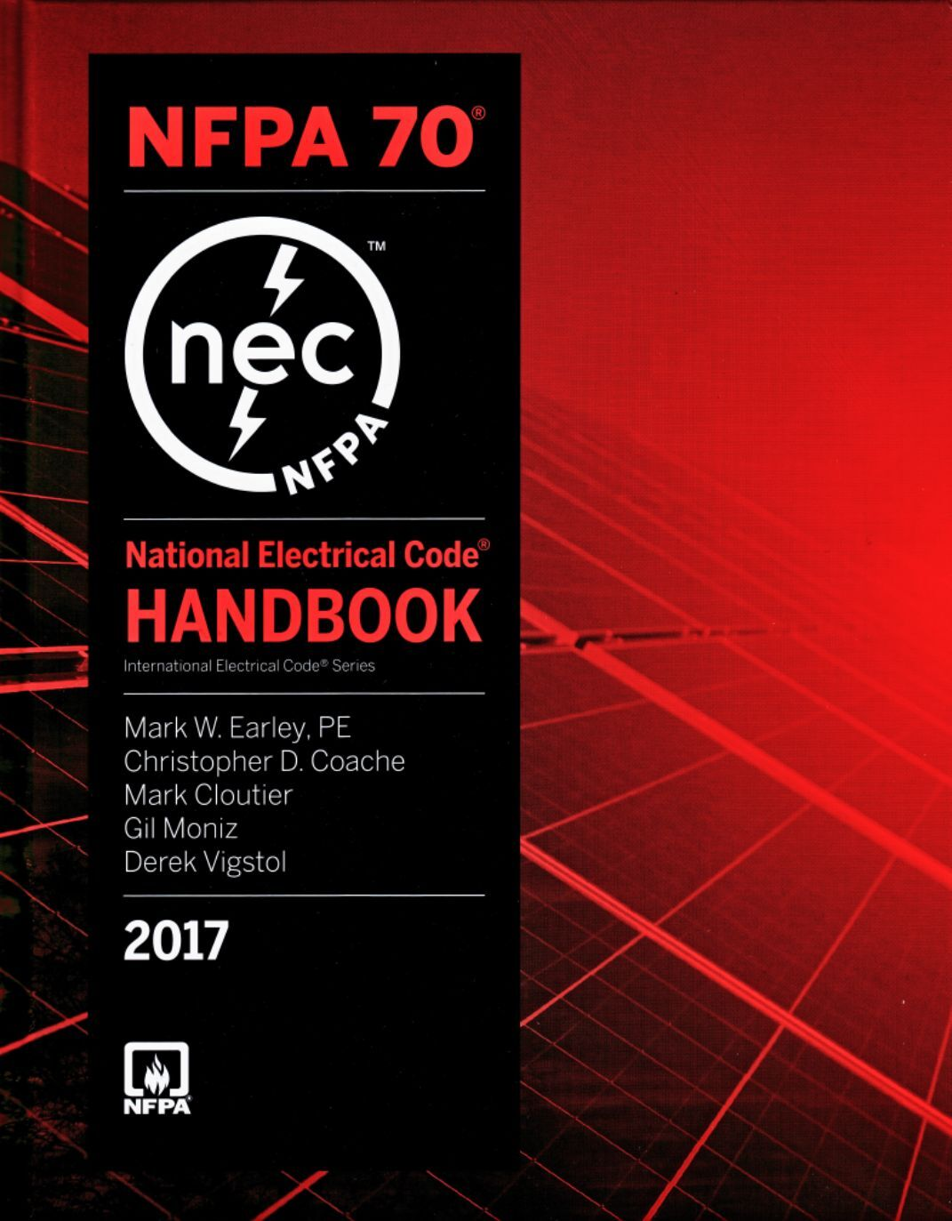 NFPA 70 Handbook : National Electrical Code, NEC, Handbook, 2017 Edition, New